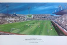Sheffield Wednesday 'Hillsborough 1975' A3 FRAMED print